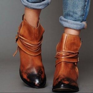 Free People Outpost Ankle boots NWOT